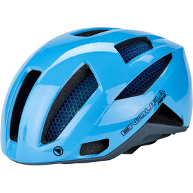 Endura Pro SL Helmet with Koroyd neon blue